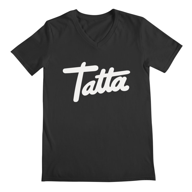 Tatta Men's V-Neck by WHADDUPANDA BODEGA