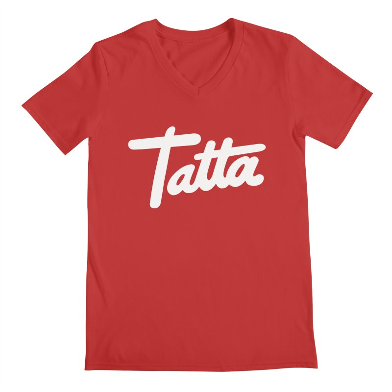 Tatta Men's V-Neck by WHADDUPANDA BODEGA