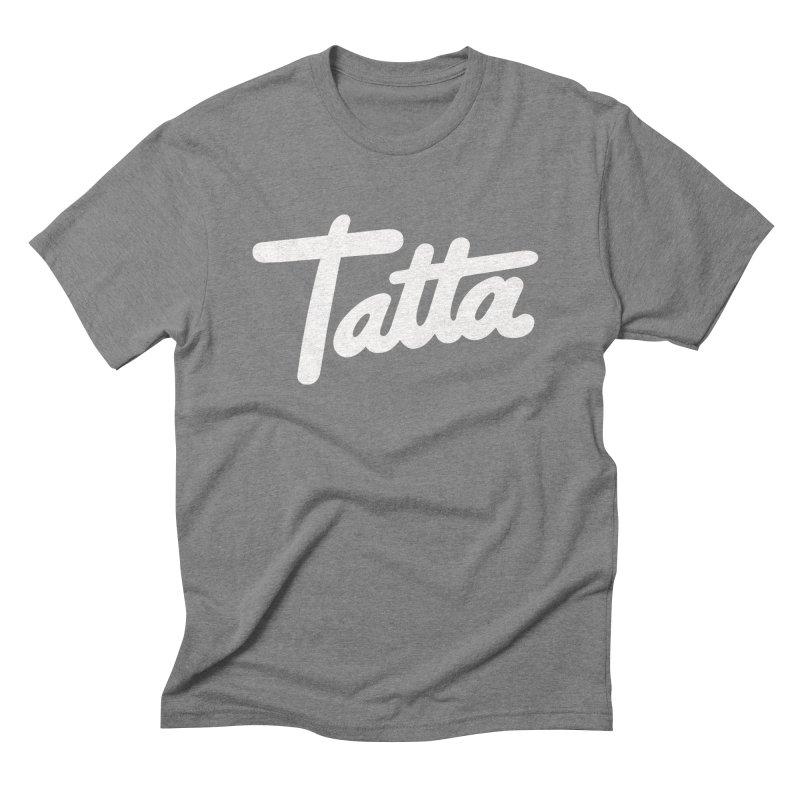 Tatta Men's Triblend T-shirt by WHADDUPANDA BODEGA