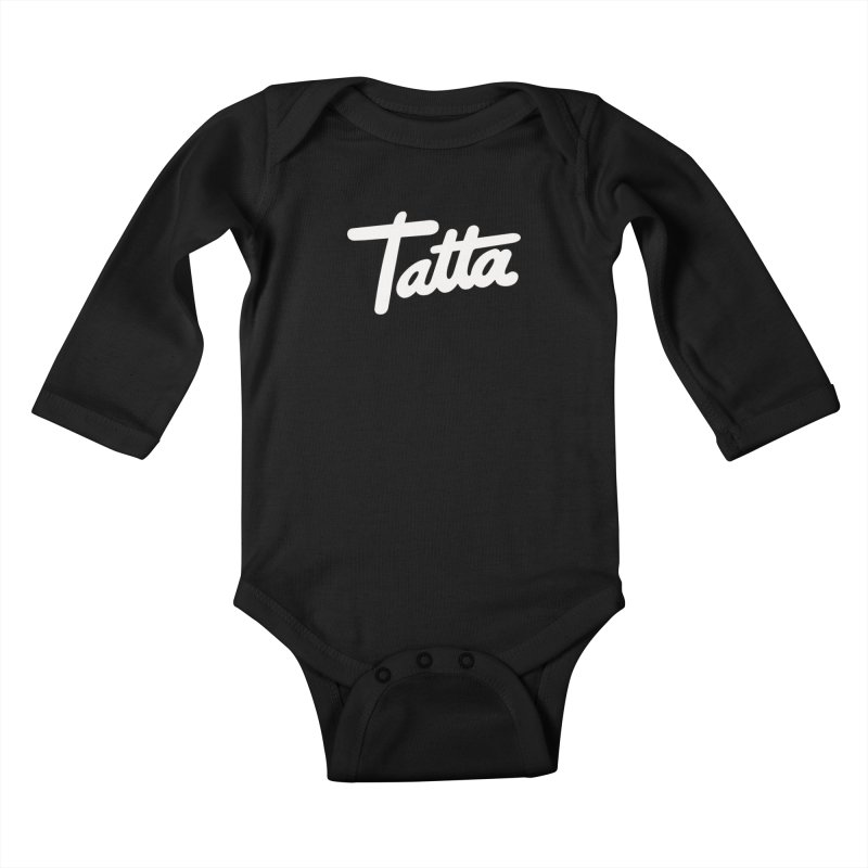 Tatta Kids Baby Longsleeve Bodysuit by WHADDUPANDA BODEGA