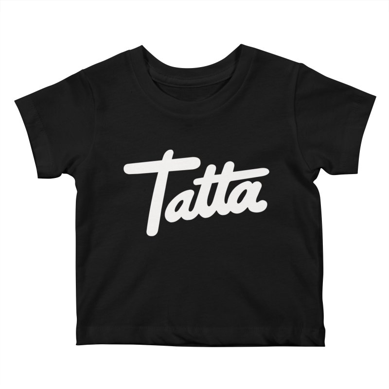 Tatta Kids Baby T-Shirt by WHADDUPANDA BODEGA