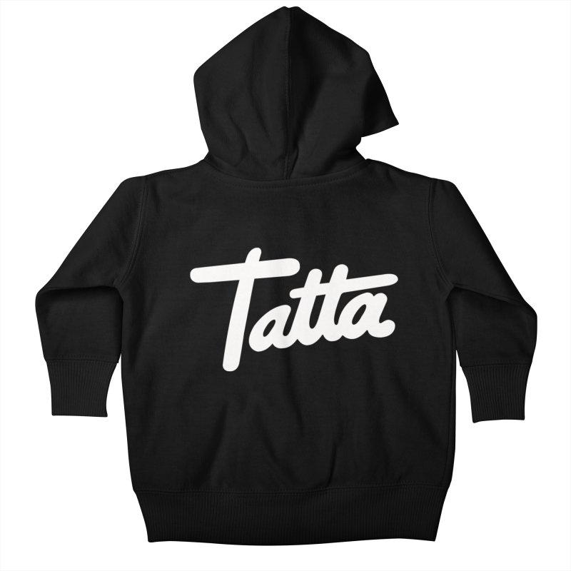 Tatta Kids Baby Zip-Up Hoody by WHADDUPANDA BODEGA