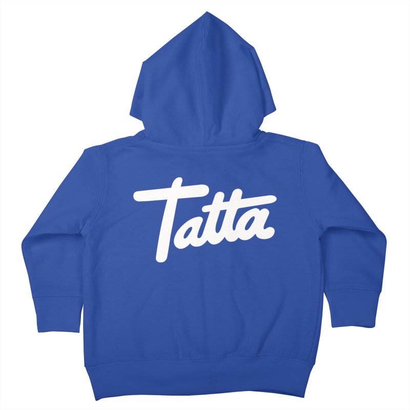 Tatta Kids Toddler Zip-Up Hoody by WHADDUPANDA BODEGA
