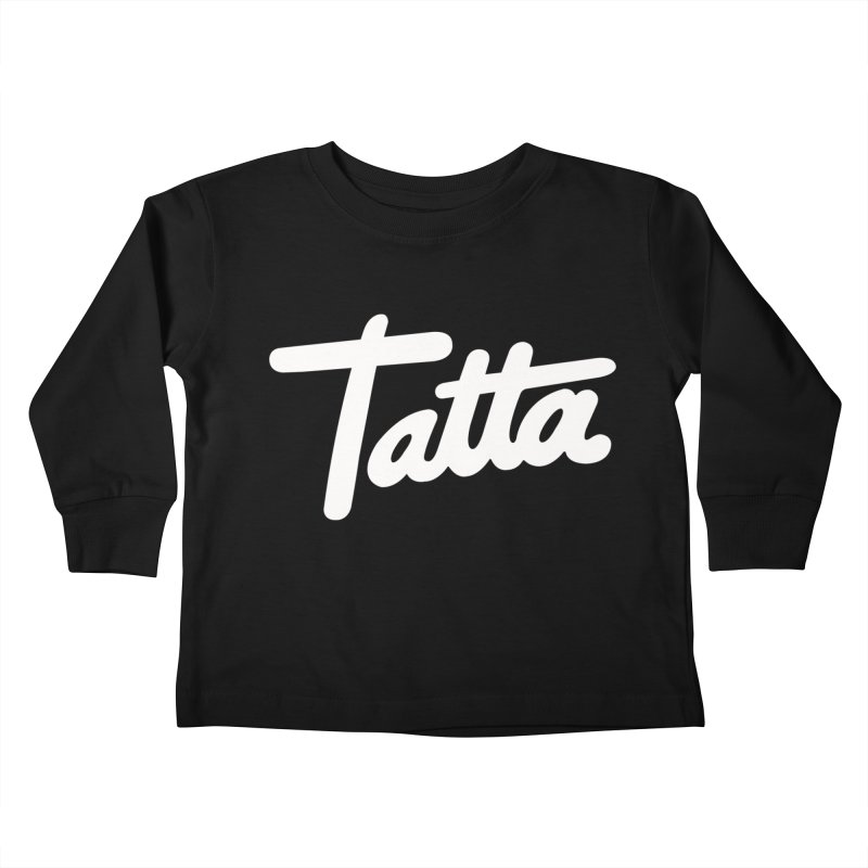 Tatta Kids Toddler Longsleeve T-Shirt by WHADDUPANDA BODEGA