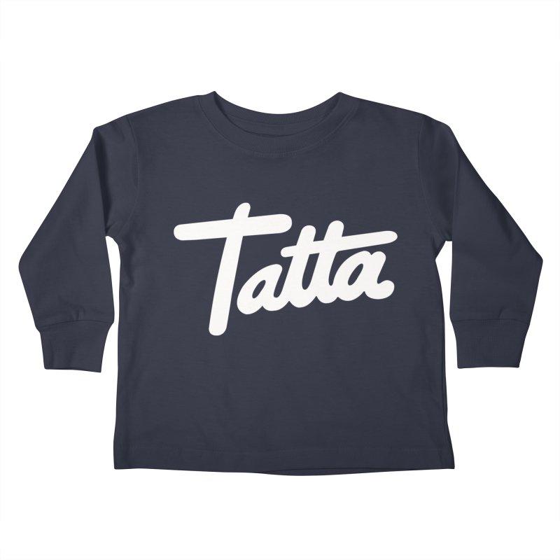 Tatta Kids Toddler Longsleeve T-Shirt by WHADDUPANDA BODEGA