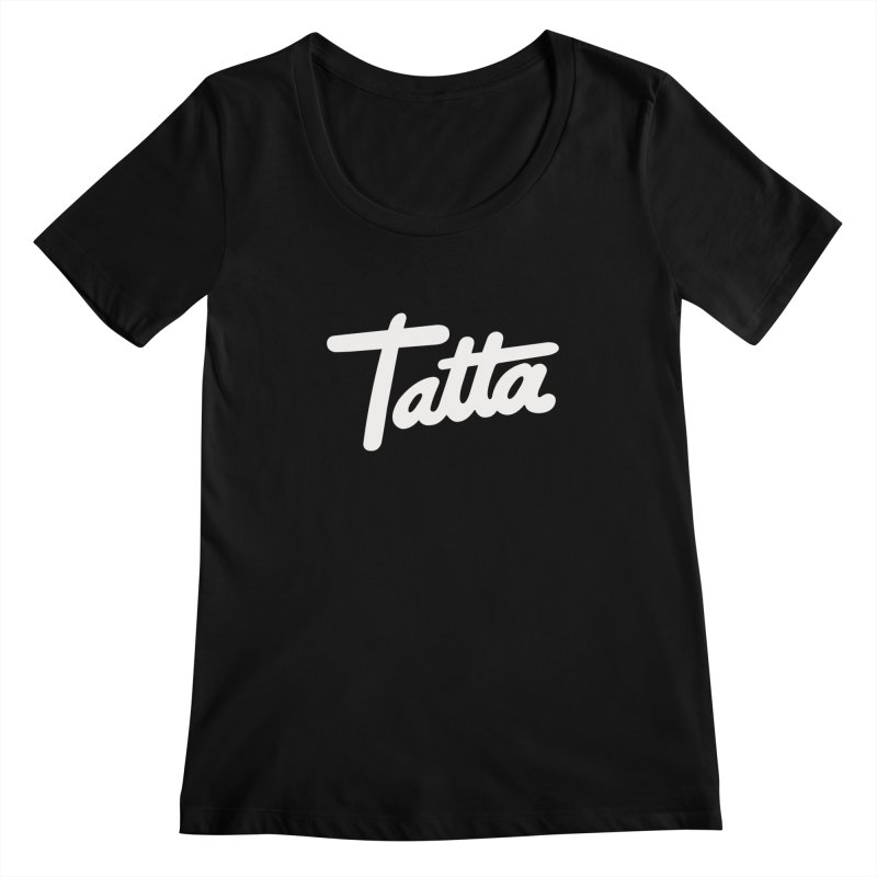 Tatta Women's Scoopneck by WHADDUPANDA BODEGA
