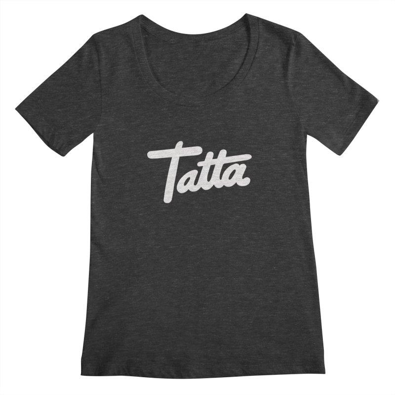 Tatta Women's Scoopneck by WHADDUPANDA BODEGA