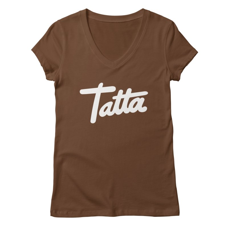 Tatta Women's V-Neck by WHADDUPANDA BODEGA