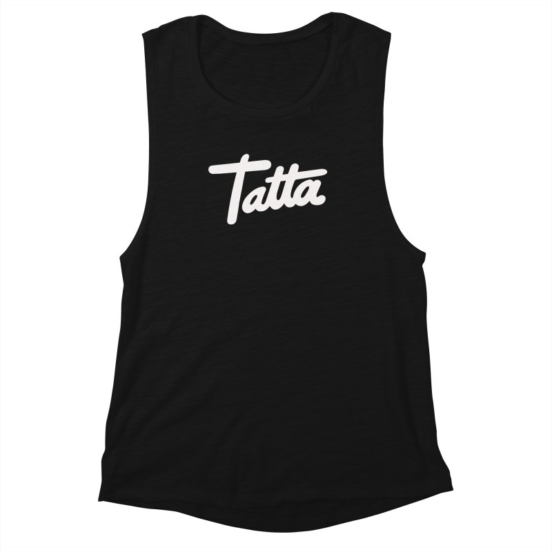 Tatta Women's Muscle Tank by WHADDUPANDA BODEGA