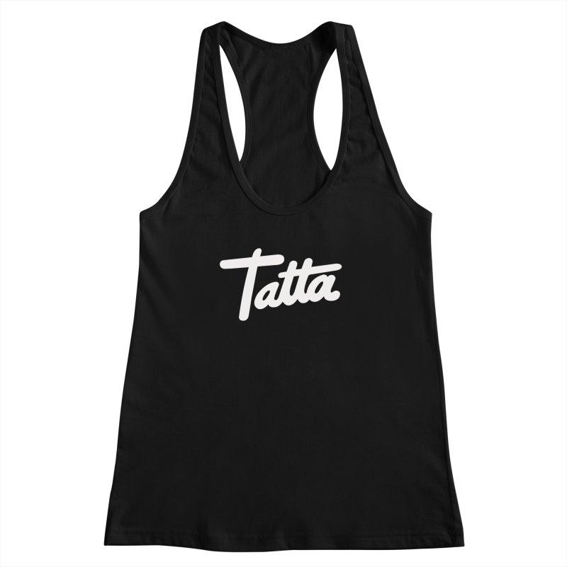 Tatta Women's Racerback Tank by WHADDUPANDA BODEGA