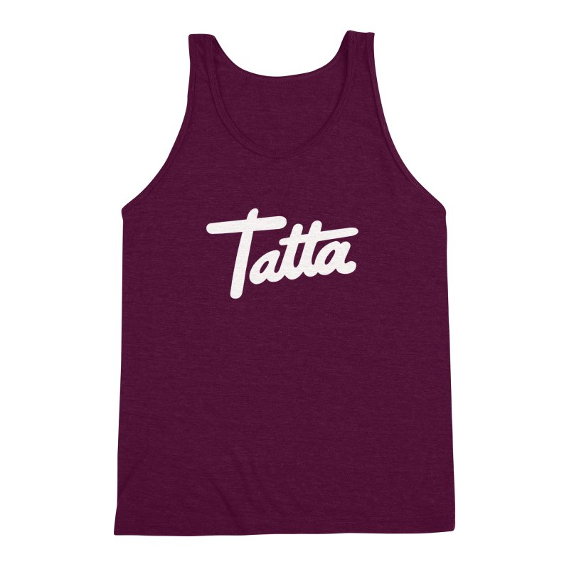 Tatta Men's Triblend Tank by WHADDUPANDA BODEGA