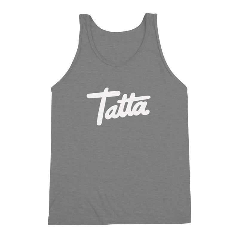 Tatta Men's Triblend Tank by WHADDUPANDA BODEGA