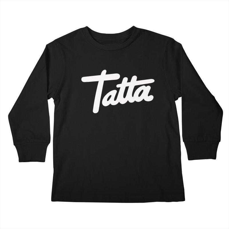 Tatta Kids Longsleeve T-Shirt by WHADDUPANDA BODEGA