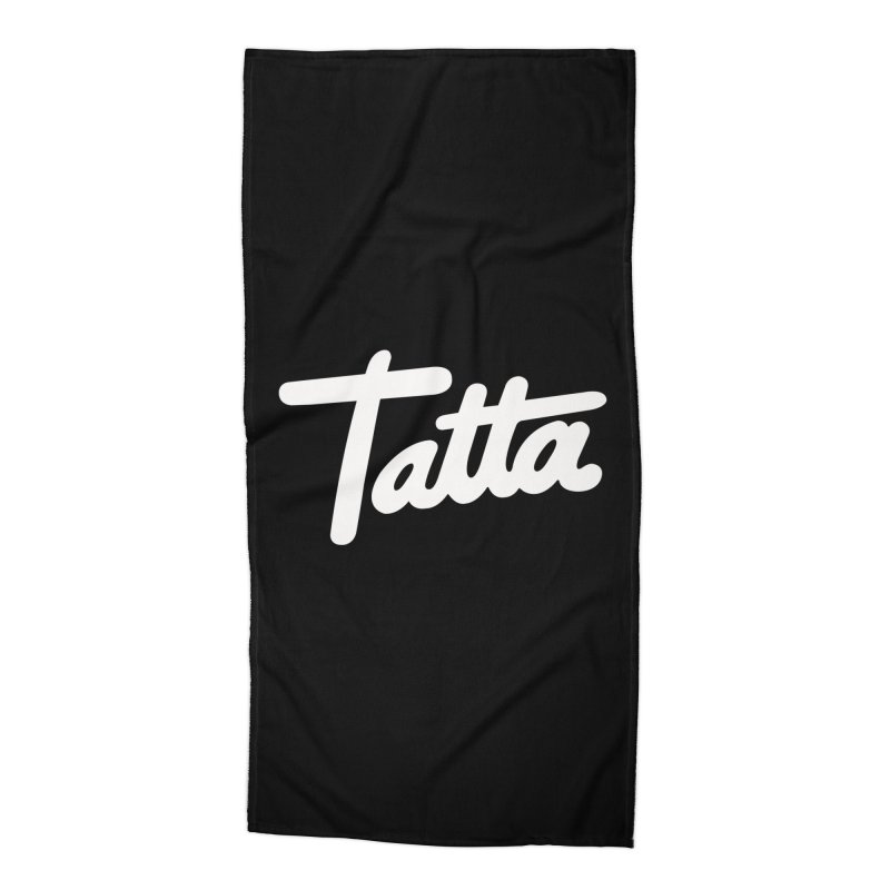 Tatta Accessories Beach Towel by WHADDUPANDA BODEGA
