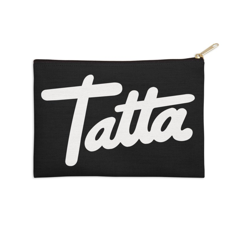 Tatta Accessories Zip Pouch by WHADDUPANDA BODEGA