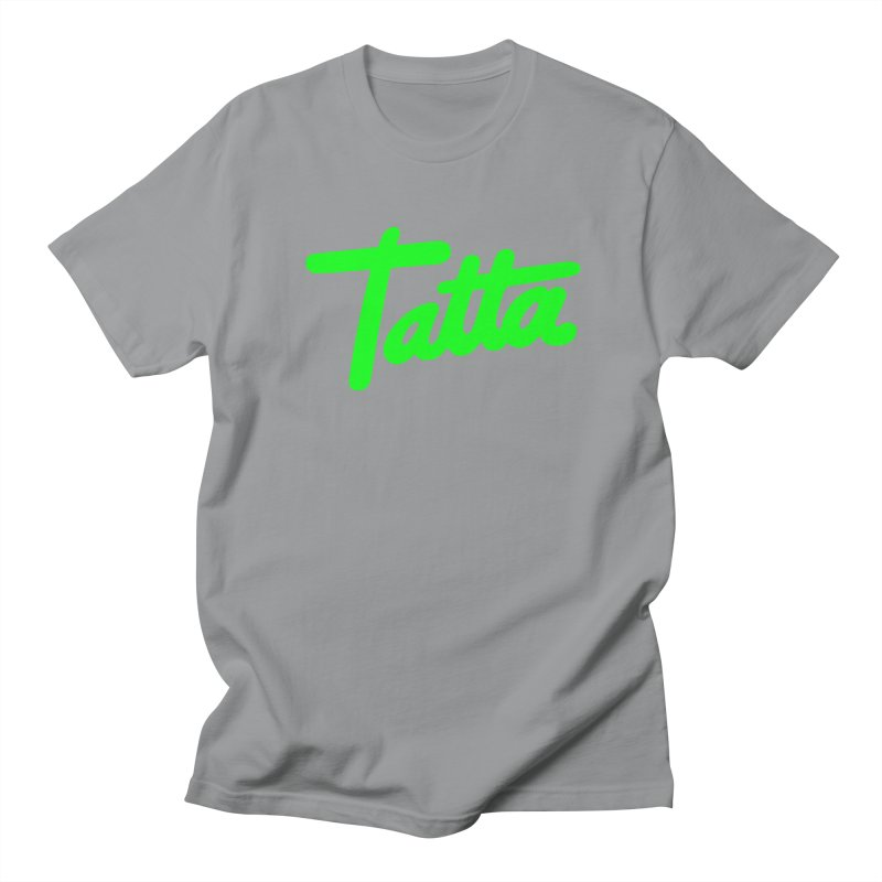 Tatta neon green Women's Unisex T-Shirt by WHADDUPANDA BODEGA