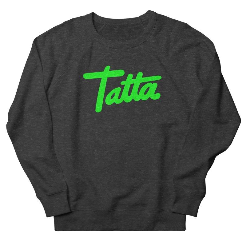 Tatta neon green Women's Sweatshirt by WHADDUPANDA BODEGA
