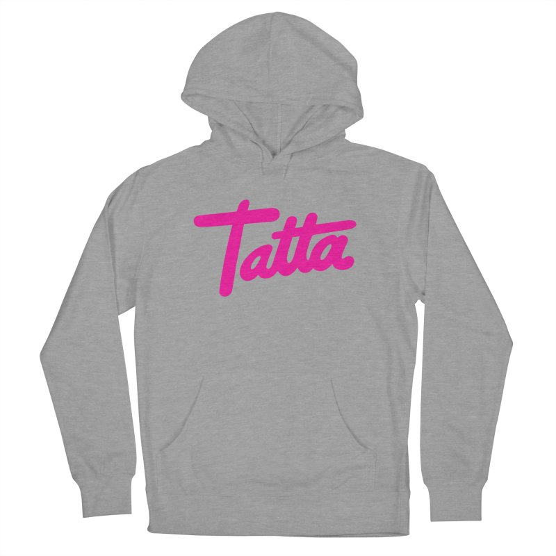 Tatta pink Men's Pullover Hoody by WHADDUPANDA BODEGA