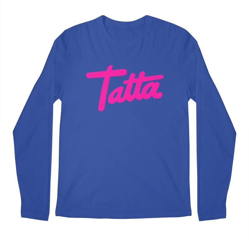 Tatta pink Men's Longsleeve T-Shirt by WHADDUPANDA BODEGA