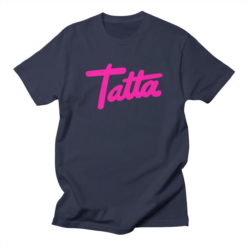 Tatta pink Men's T-Shirt by WHADDUPANDA BODEGA