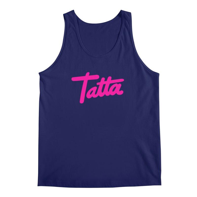 Tatta pink Men's Tank by WHADDUPANDA BODEGA