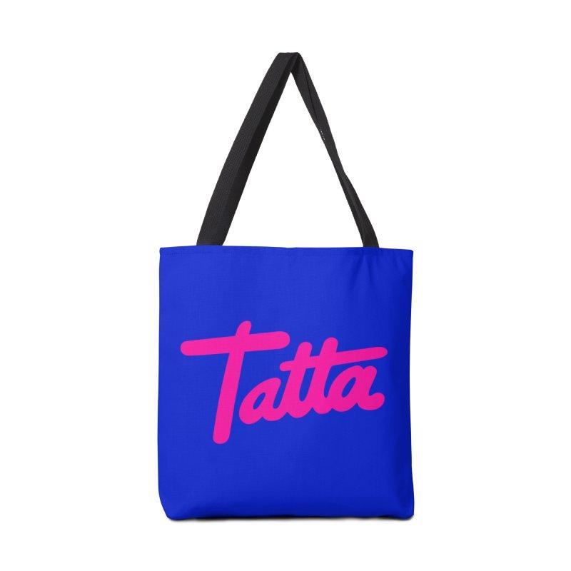 Tatta pink Accessories Bag by WHADDUPANDA BODEGA
