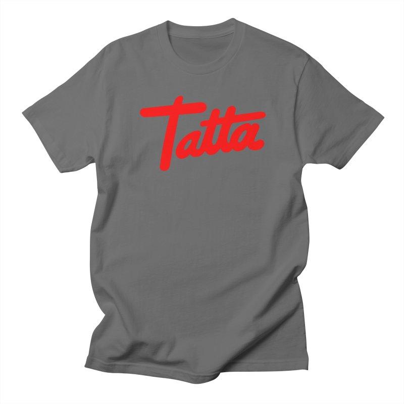Tatta red Women's Unisex T-Shirt by WHADDUPANDA BODEGA