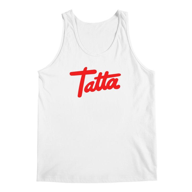 Tatta red Men's Tank by WHADDUPANDA BODEGA