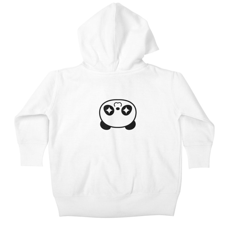 Drunk Panda Kids Baby Zip-Up Hoody by WHADDUPANDA BODEGA