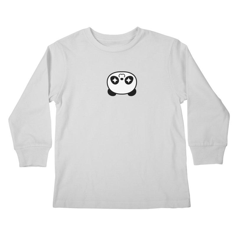 Drunk Panda Kids Longsleeve T-Shirt by WHADDUPANDA BODEGA