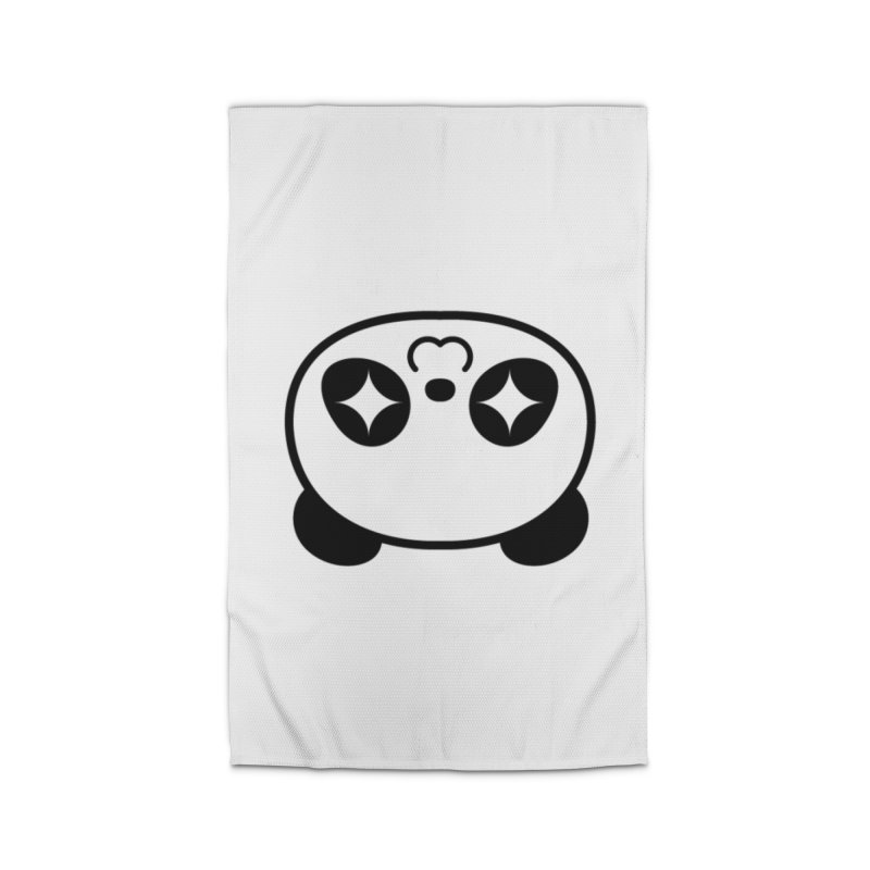 Drunk Panda Home Rug by WHADDUPANDA BODEGA