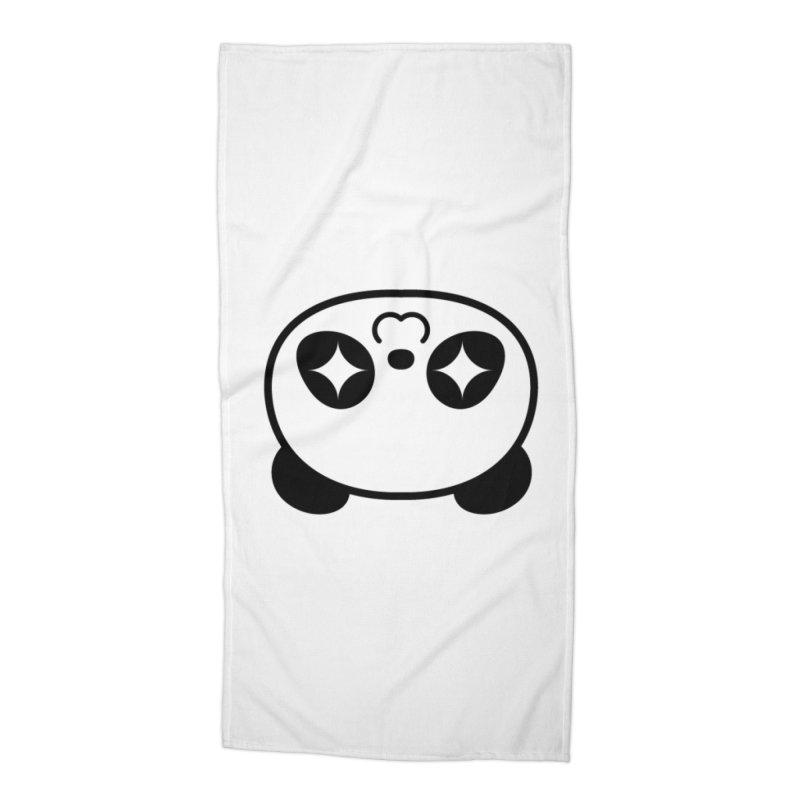 Drunk Panda Accessories Beach Towel by WHADDUPANDA BODEGA