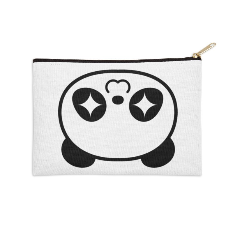 Drunk Panda Accessories Zip Pouch by WHADDUPANDA BODEGA