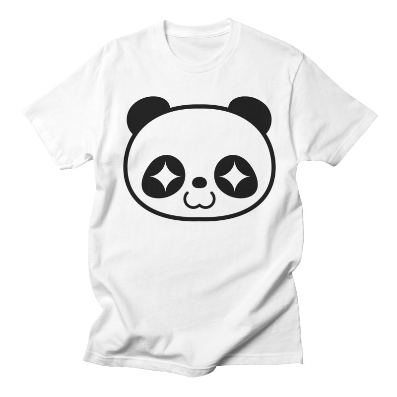 PANDA in Men's T-Shirt White by WHADDUPANDA BODEGA