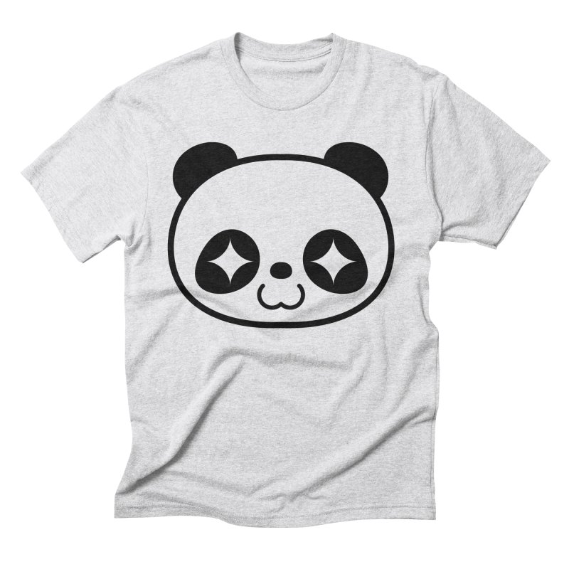 PANDA Men's Triblend T-shirt by WHADDUPANDA BODEGA