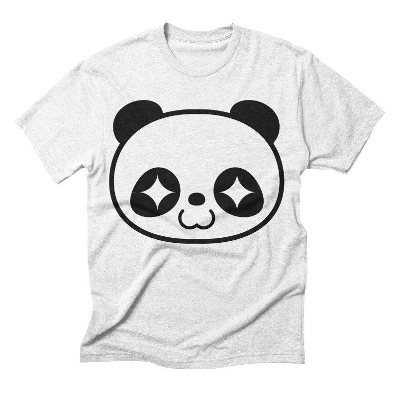 PANDA Men's Triblend T-shirt by WHADDUPANDA BODEGA