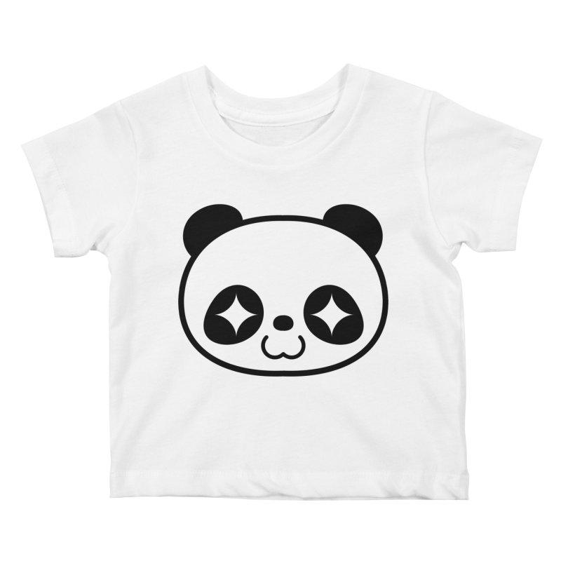 PANDA Kids Baby T-Shirt by WHADDUPANDA BODEGA