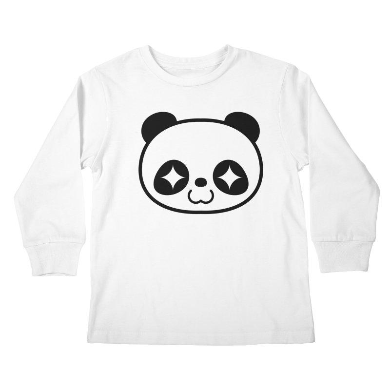 PANDA Kids Longsleeve T-Shirt by WHADDUPANDA BODEGA