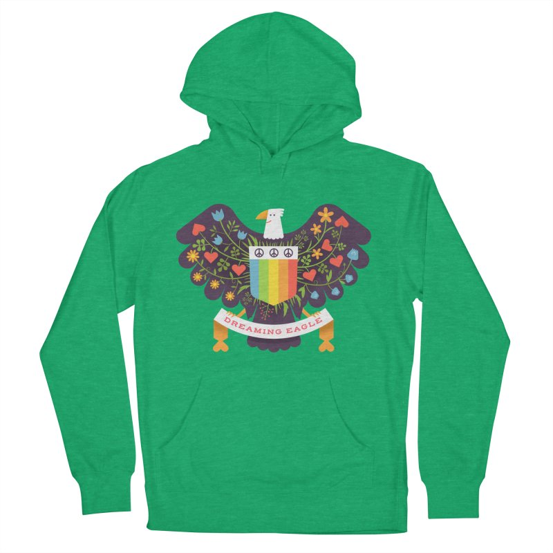 Dreaming Eagle Men's Pullover Hoody by wharton's Artist Shop