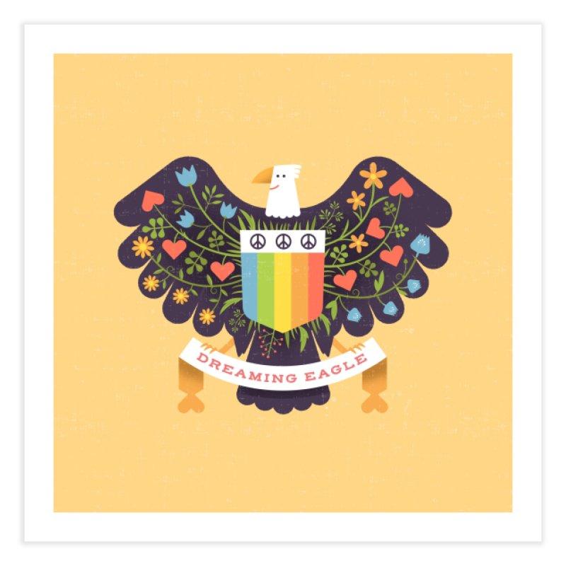 Dreaming Eagle Home Fine Art Print by wharton's Artist Shop