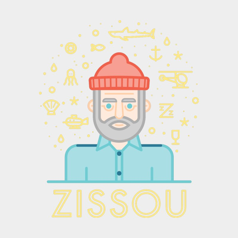 Zissou by wharton's Artist Shop