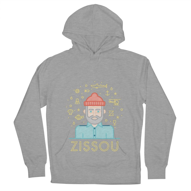 Zissou Men's French Terry Pullover Hoody by wharton's Artist Shop
