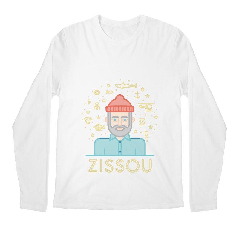 Zissou Men's Longsleeve T-Shirt by wharton's Artist Shop