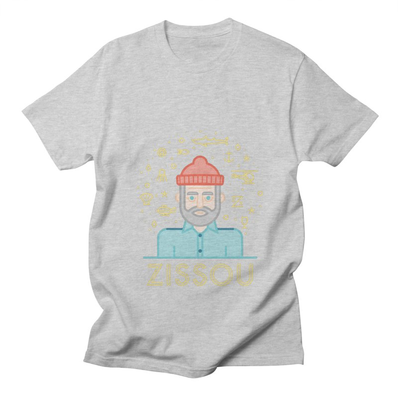 Zissou Women's Regular Unisex T-Shirt by wharton's Artist Shop