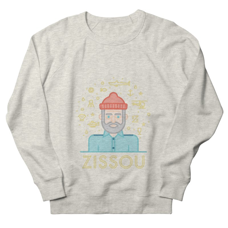 Zissou Men's French Terry Sweatshirt by wharton's Artist Shop