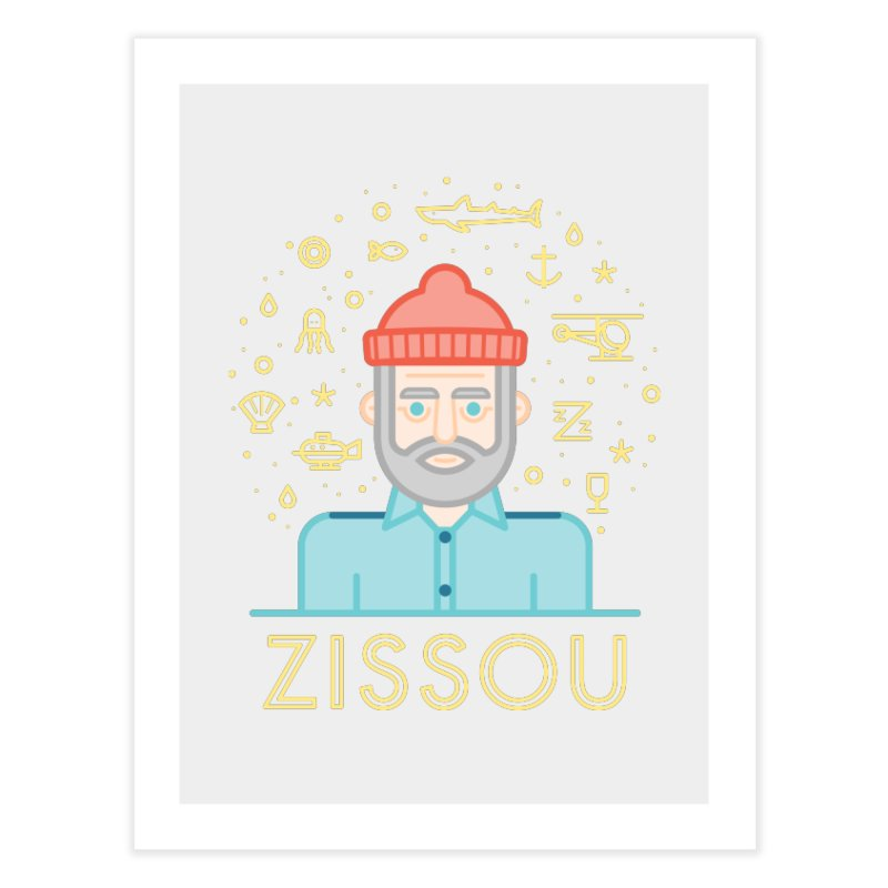 Zissou Home Fine Art Print by wharton's Artist Shop