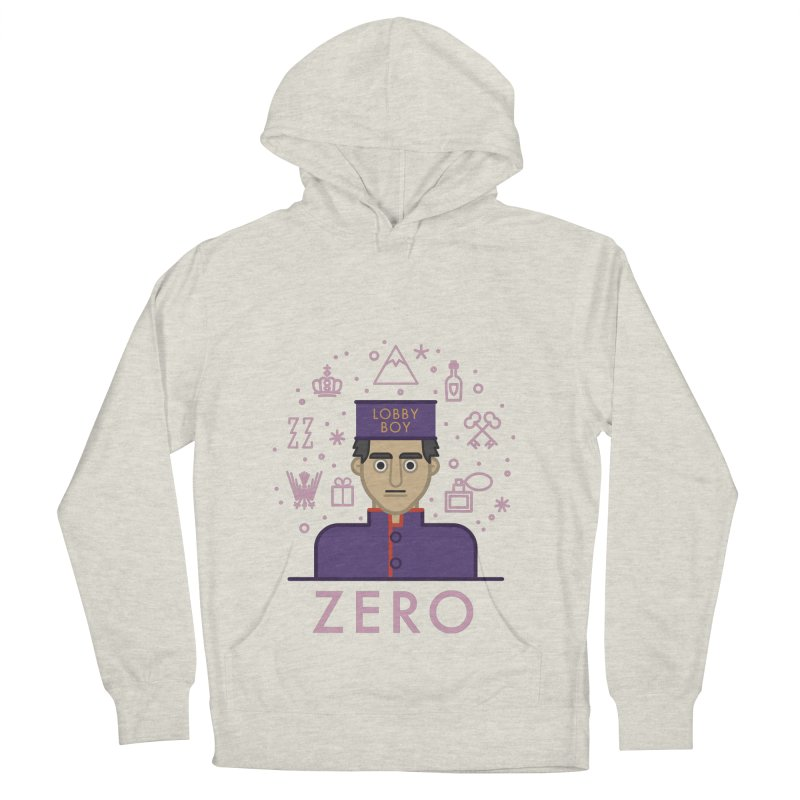 Zero Women's French Terry Pullover Hoody by wharton's Artist Shop