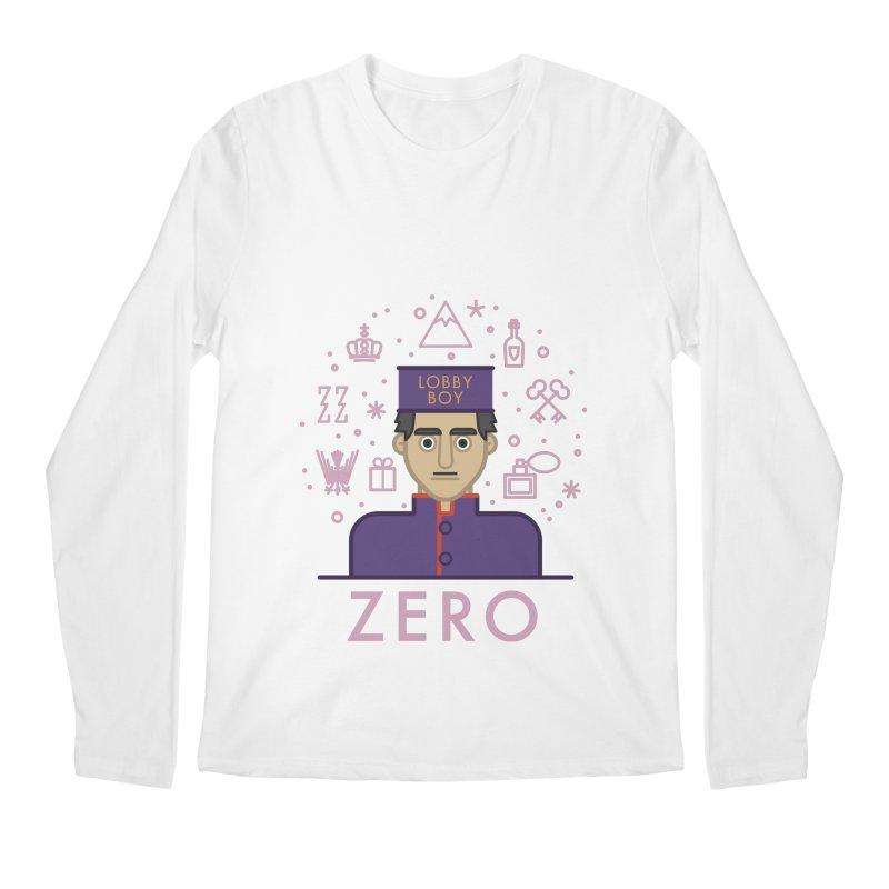 Zero Men's Longsleeve T-Shirt by wharton's Artist Shop