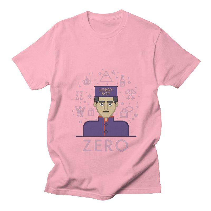 Zero Men's T-Shirt by wharton's Artist Shop