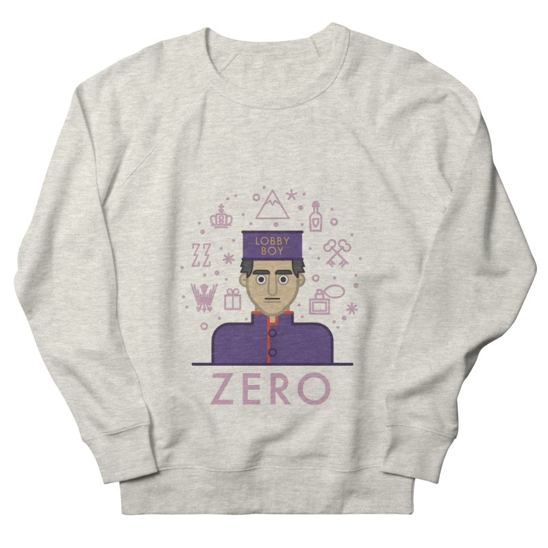 Zero Men's French Terry Sweatshirt by wharton's Artist Shop